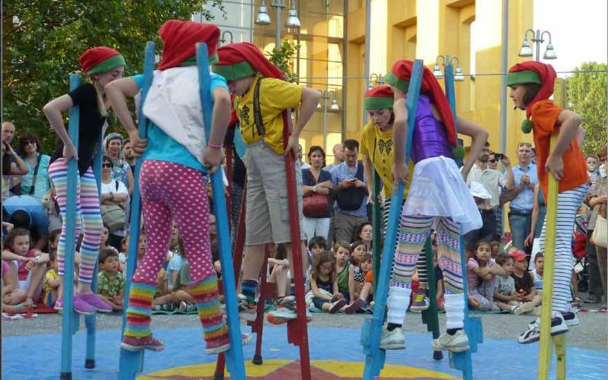 Circus Day con Circolarmente al Barilla