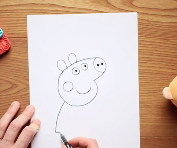 Disegnare Peppa Pig!