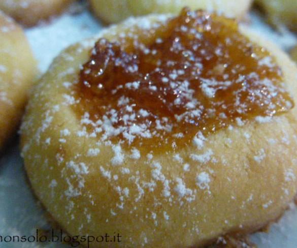 Biscotti morbidissimi alla marmellata