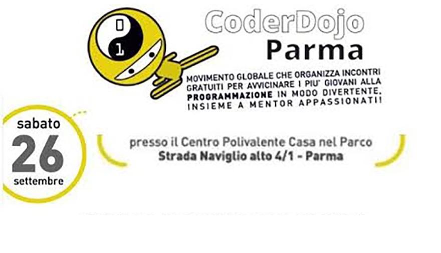 Laboratori d'informatica e Genitori 2.0 a CoderDojo Parma