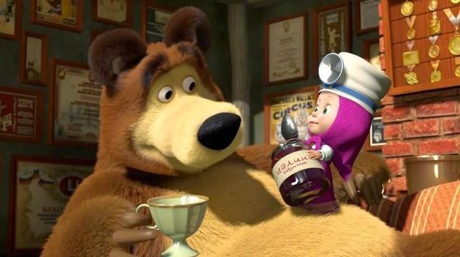 Al cinema con Masha e Orso