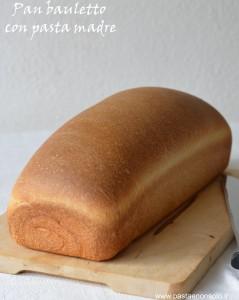 pan bauletto con lievito madre1