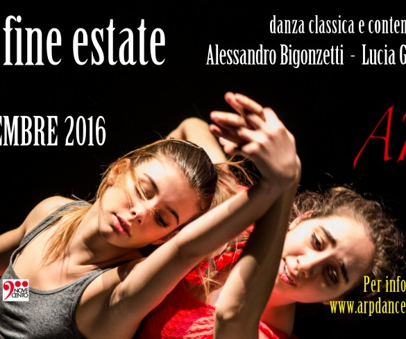 """Stage di fine estate"" con ArpDance"