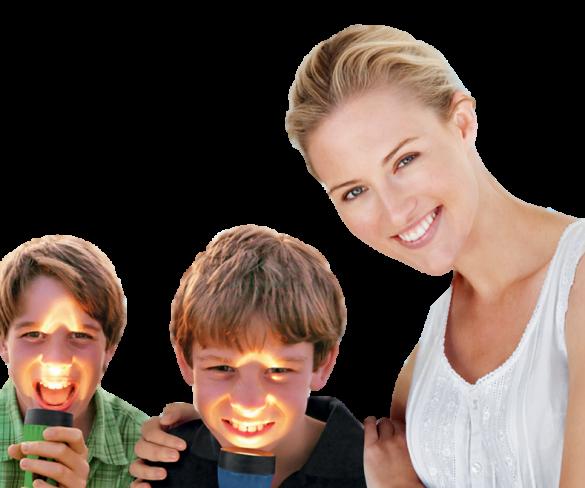 Carie nei bambini, scoprirle senza Raggi X