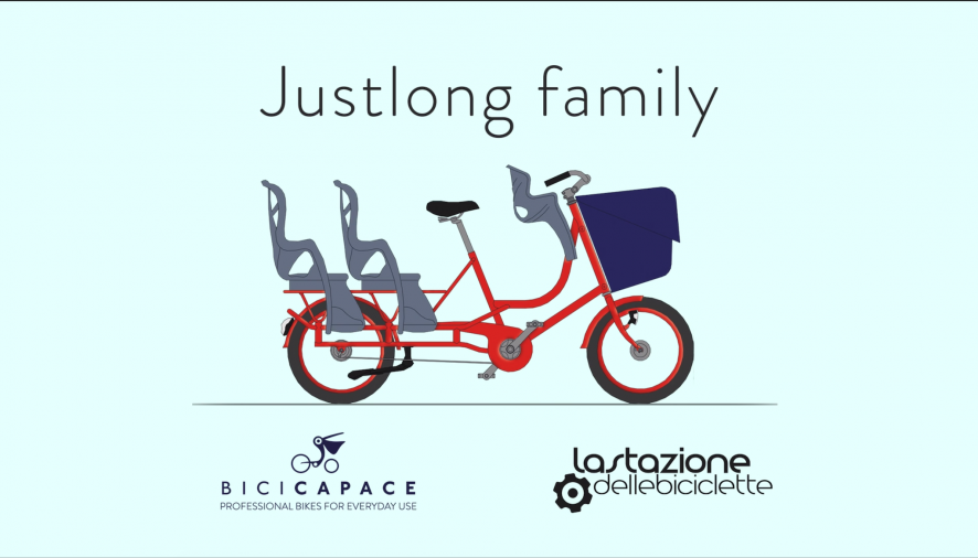 Bicicapace. La bicicletta famigliare