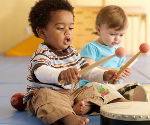 Partano i corsi di musica per bambini di Music Together