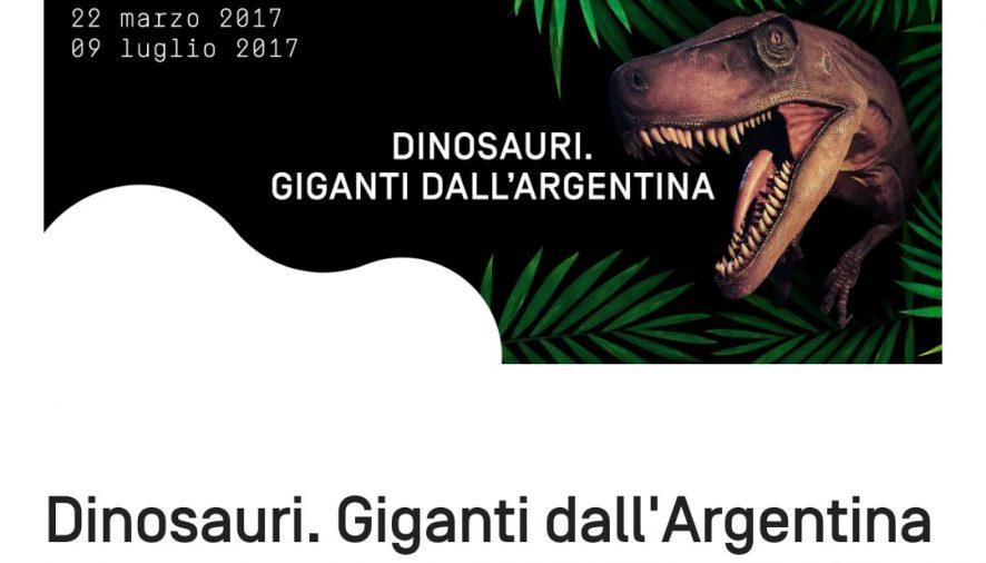 A scuola con i Dinosauri, dal 22 marzo al 9 luglio