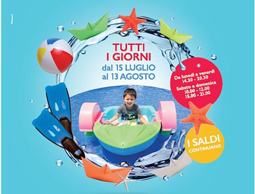 Il laghetto per bambinia Parma Retail