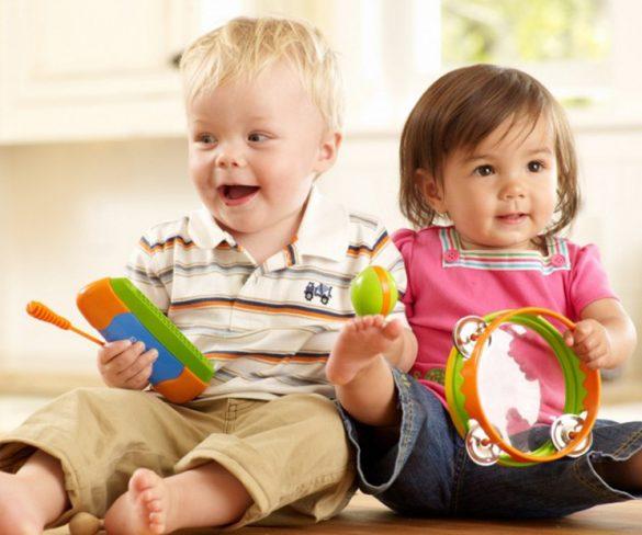 I Corsi di musica per bambini di Crescendo con Music Together