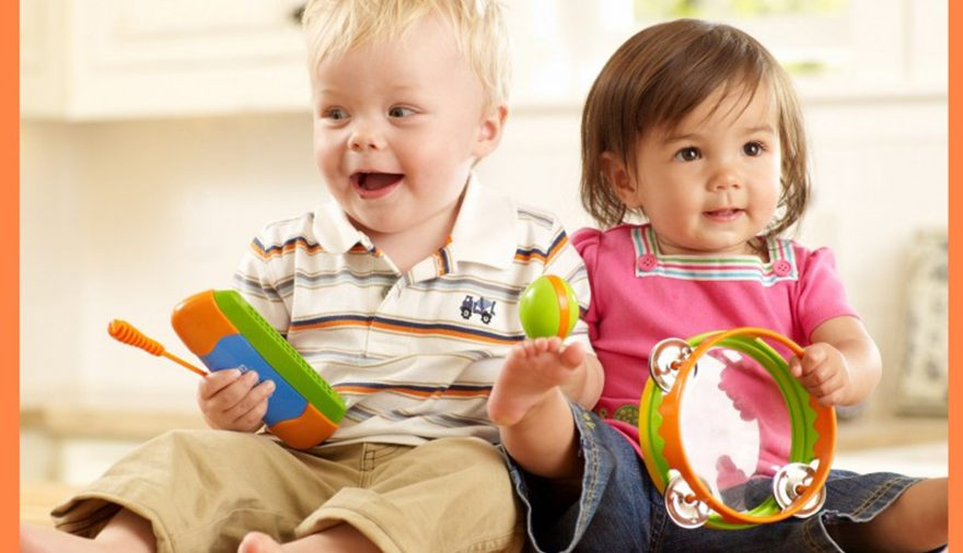 I Corsi di musica per bambini di Crescendo con Music Together