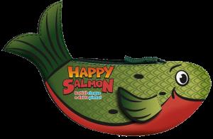 """Copertina di """"Happy salmon"""""""