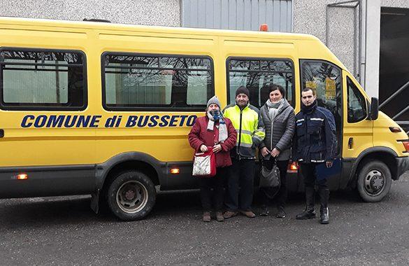Scuolabus a Busseto, controlli per garantire la massima sicurezza