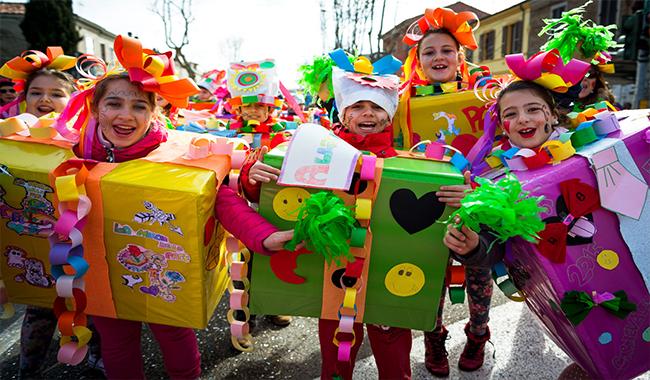 Stelle filanti e kermesse mascherate, le feste del week-end in provincia