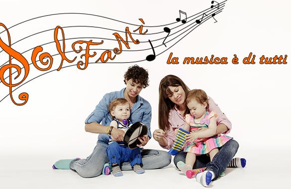 Divertirsi in famiglia facendo musica tutti insieme? Con SolFaMi si può fare