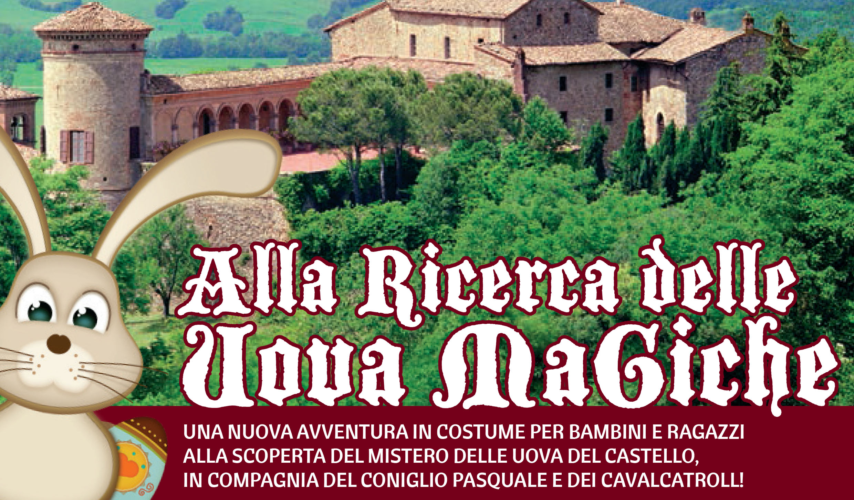 """A Pasquetta torna """"Alla Ricerca delle Uova Magiche"""", un'avventura al Castello di Scipione dei Marchesi"""