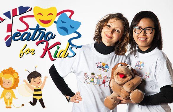 Imparare l'inglese giocando, cantando e recitando: ecco il metodo di Teatro for Kids!