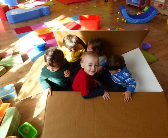 SENZA PENSIERI: gruppo educativo e baby parking anche in estate