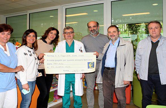 All'Ospedale dei bambini un dono speciale per l'attività di Giocamico