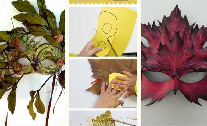 LA NATURA FANTASTICA: costruisci la tua maschera