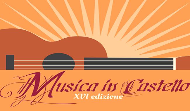 """Prosegue fino all' 1 settembre la XVI edizione di """"Musica In Castello"""""""