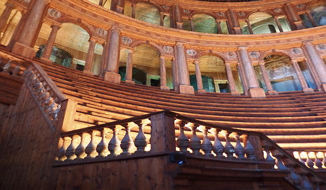 Piccole Guide al Teatro Farnese - Palazzo della Pilotta