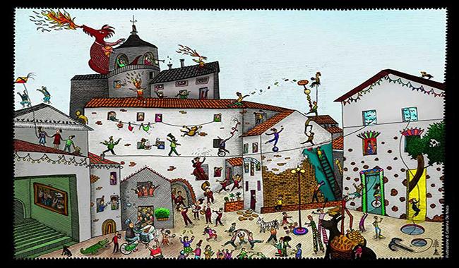 Contile addosso - rassegna artistica nel piccolo borgo