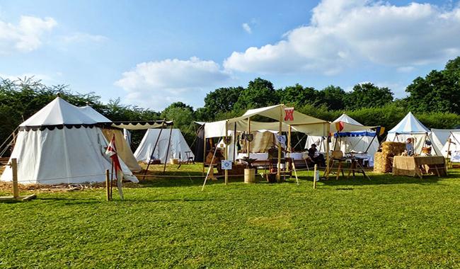 Rifugio Lagdei - Gli arcieri e l'accampamento medievale