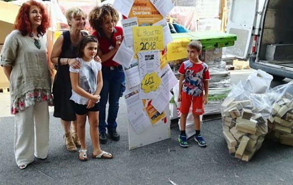 """""""Insieme per il nostro quartiere"""": vince il progetto della scuola Pezzani"""