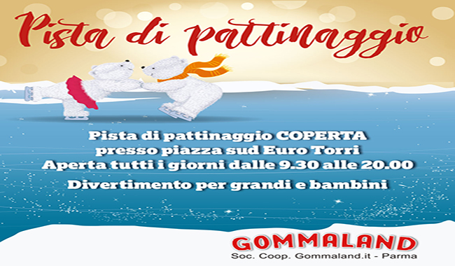 Gommaland On Ice Village, tutti in pista!