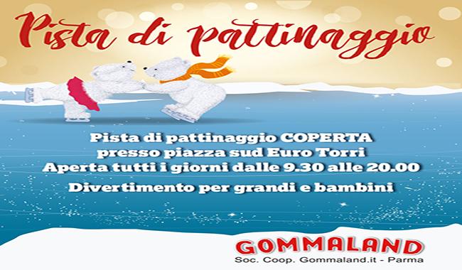 Gommaland On Ice Village, tutti in pista!