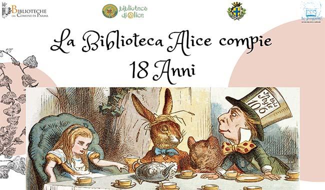 Buon compleanno (biblioteca) Alice!