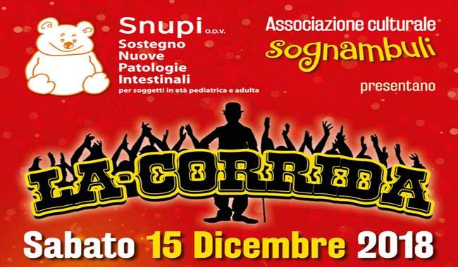 Al Teatro Conforti arriva La Corrida per una serata molto speciale!