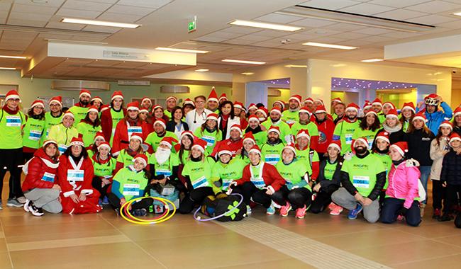 Il Natale di corsa all'Ospedale dei Bambini, per portare giochi e allegria!