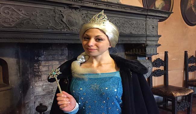Nel castello di ghiaccio con la regina più amata dai bambini