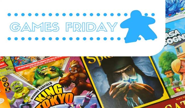 Un mare di giochi in occasione del Games Friday!