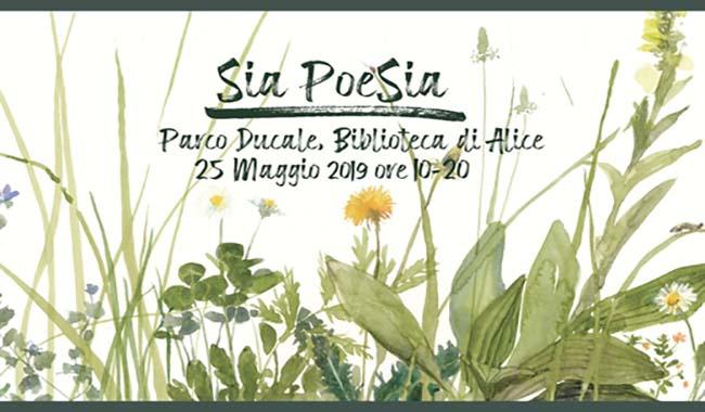 Sia Poesia: in calendario una grande festa al Parco Ducale