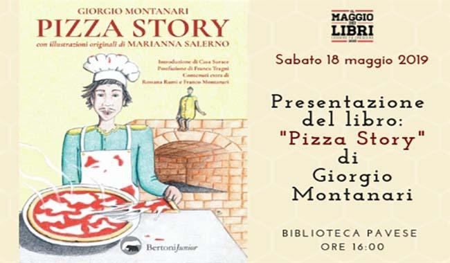 Continua il Maggio dei libri: appuntamento con Pizza Story
