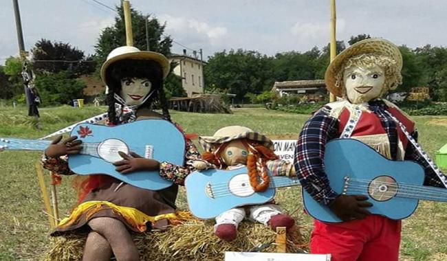 Torna la festa dedicata agli Spaventapasseri nel Parco Stirone e Piacenziano!
