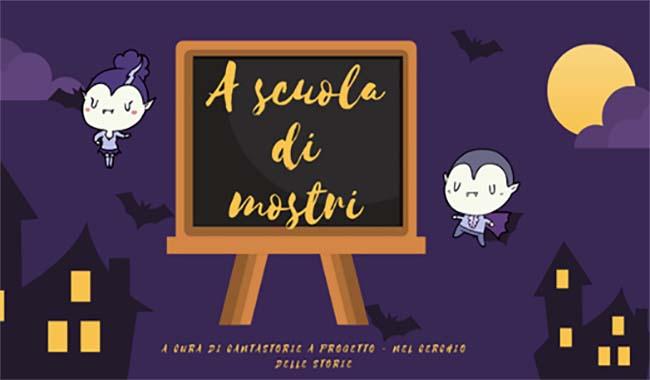 A scuola di mostri, lettura animata tra prove di coraggio e storie di paura!