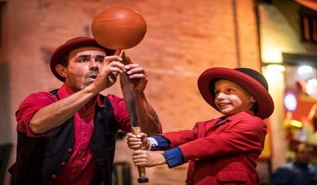 Nuovo appuntamento di Circo al Cerchio, il Teatro che diverte i più piccoli