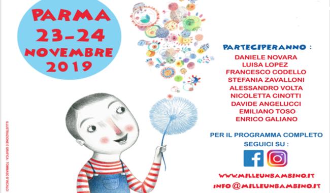 """Arriva a Parma """"Mille e un bambino"""", un Festival dedicato al mondo dell'infanzia"""