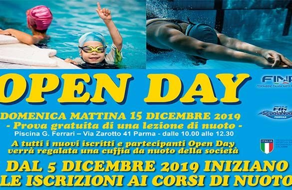 Open Day alla Scuola Nuoto Club 91, la lezione di prova è gratuita
