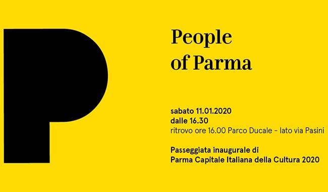 Parma 2020, passeggiata inaugurale per celebrare l'anno della Capitale della Cultura