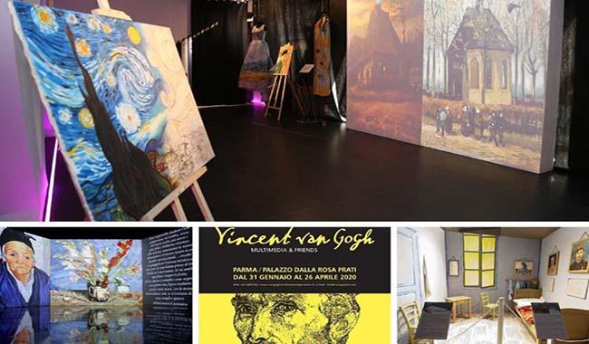"""Riapre la mostra """"Van Gogh Multimedia & Friends"""", per far conoscere il genio olandese ai bambini"""