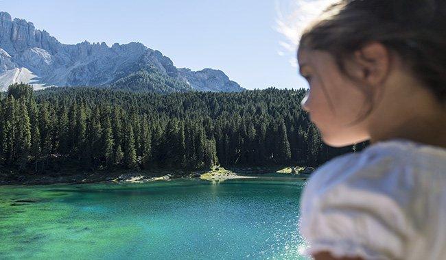 Piccoli esploratori alle Dolomiti, uno scenario bellissimo dove trascorrere le vacanze