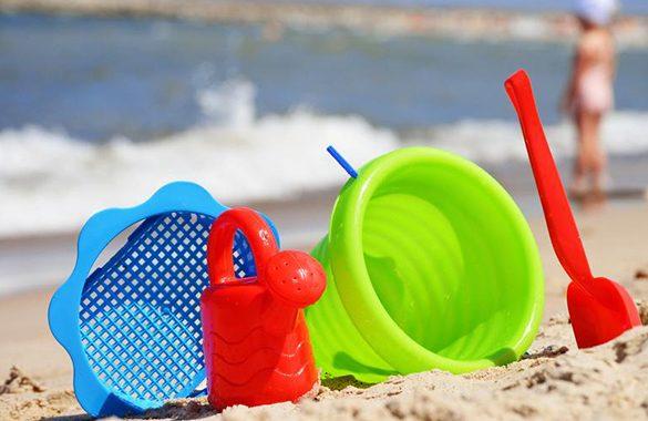 Le sette cose da fare assolutamente in spiagga con i bambini